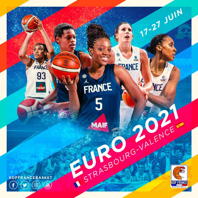 Affiche EURO 2021 Equipe de France