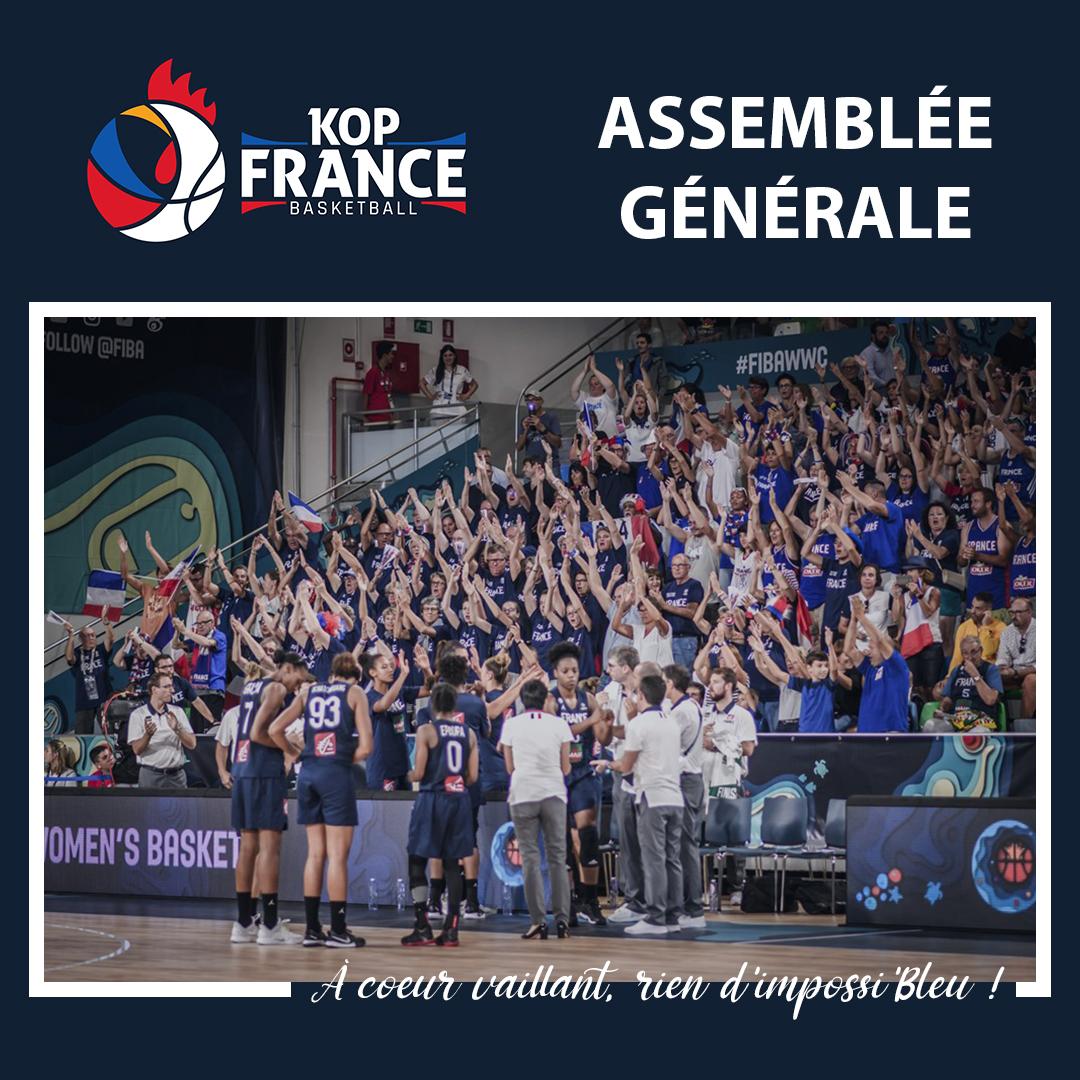 Le BUREAU 2021 du KOP FRANCE BASKET